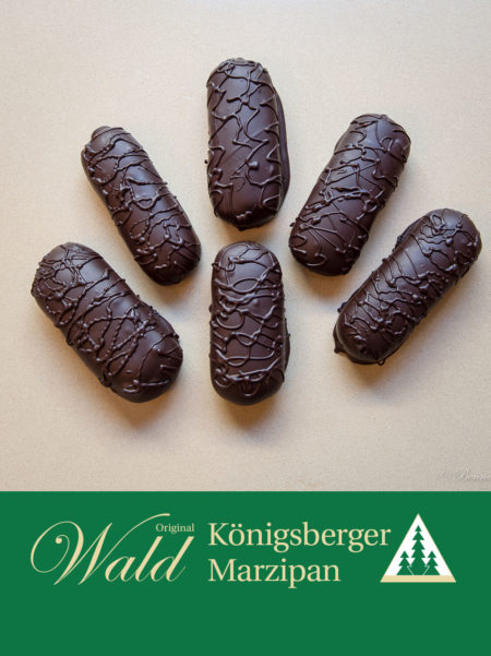 Marzipanbrot mit Edelbitterschokolade 100g