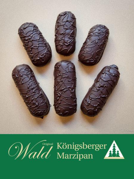 Marzipanbrot mit Edelbitterschokolade 150g