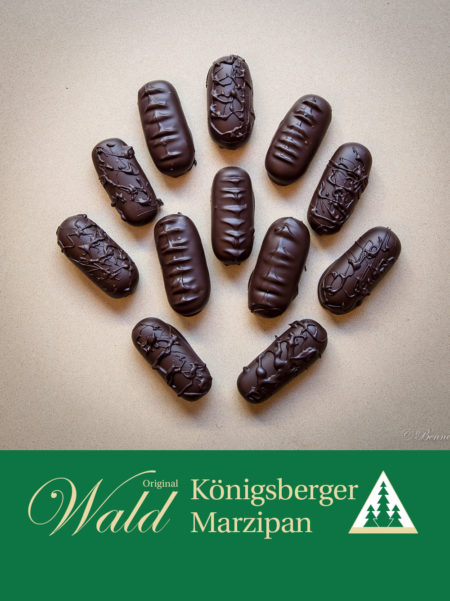 Marzipanbrot mit Edelbitterschokolade 40g