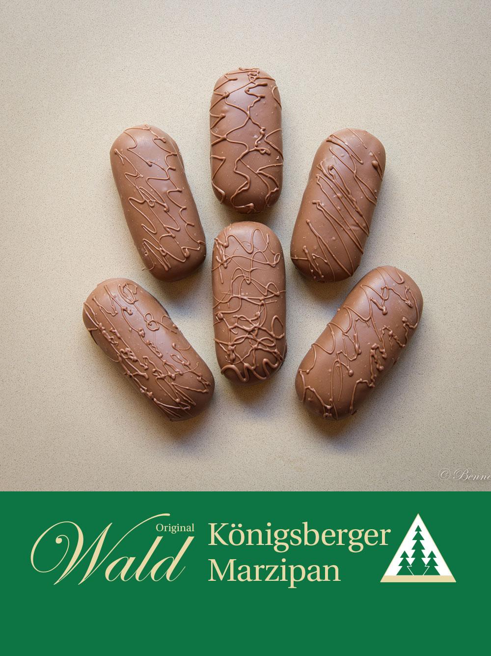 Original Wald Königsberger Marzipanbrote Vollmilch 100g