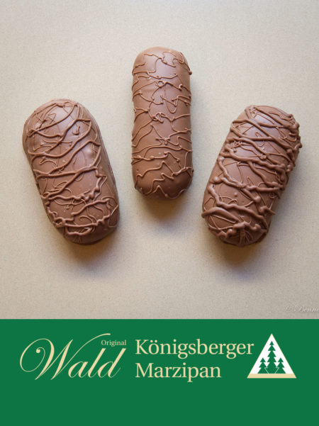 Marzipanbrot mit Vollmilchschokolade 300g