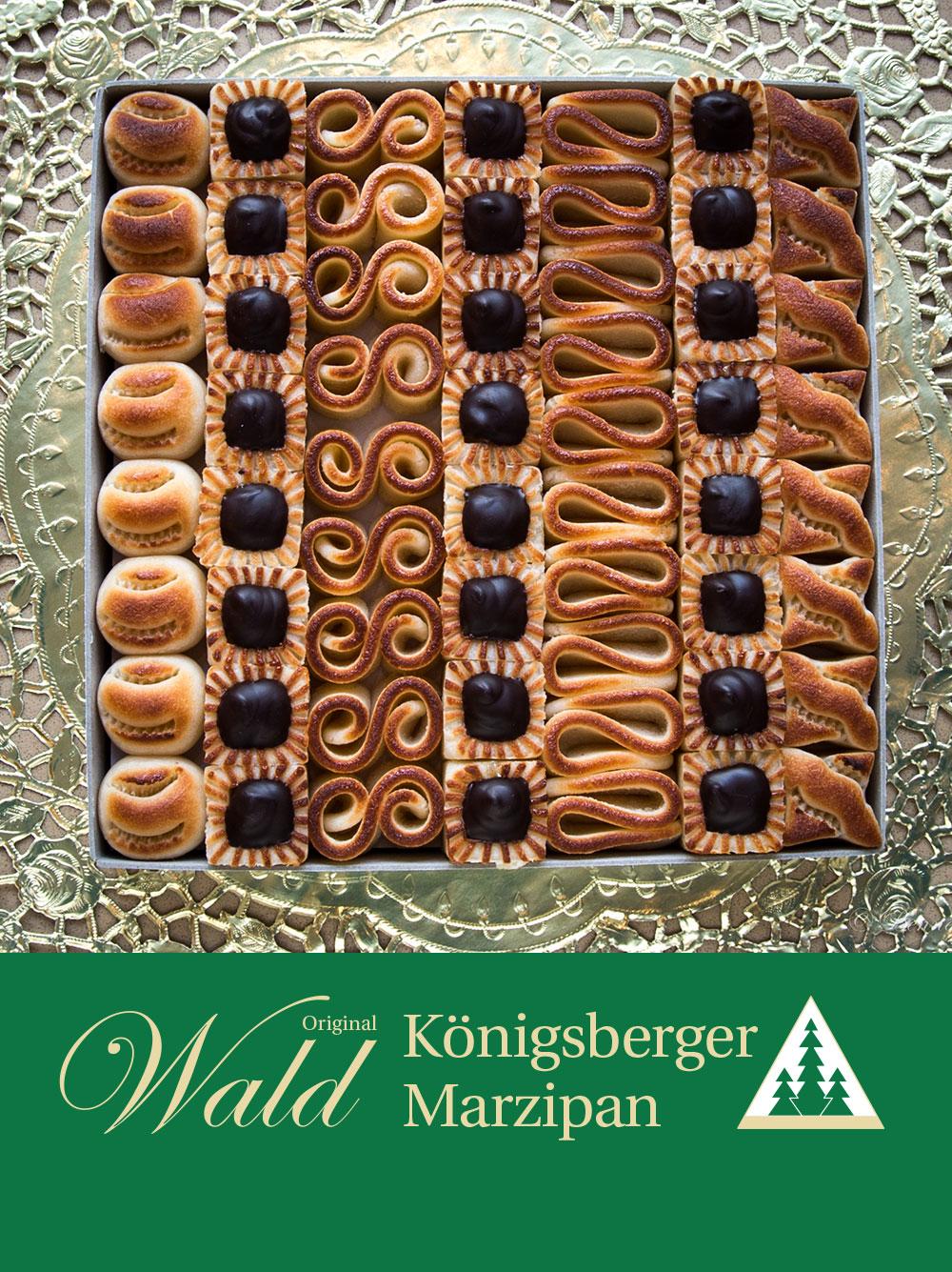 Original Wald Königsberger Teekonfekt Geschenkbox 575g