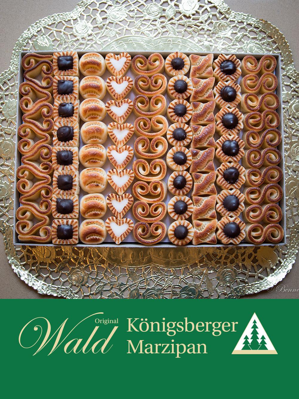 Königsberger Teekonfekt-Geschenkbox