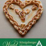 Original Wald Königsberger Marzipan Marzipanherz