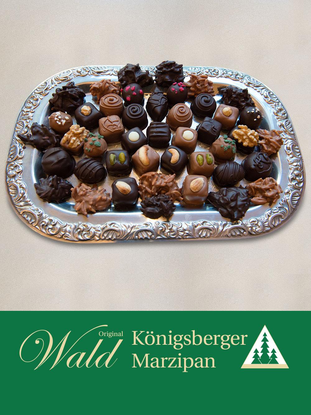 Original Wald Königsberger Marzipanpralinen 200g