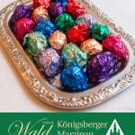 Original Wald Königsberger Marzipanpralinen alkoholisch 150g