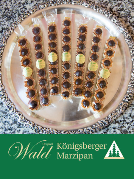 Stange Ingwer-Teekonfekt