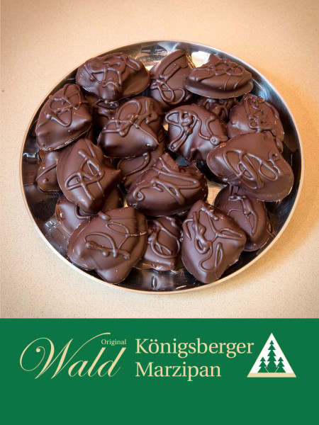 Original Wald Königsberger Zitronenblätter in Edelbitterschokolade 300g