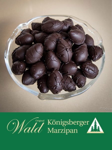 Kleine Ostereier in Edelbitterschokolade 100g