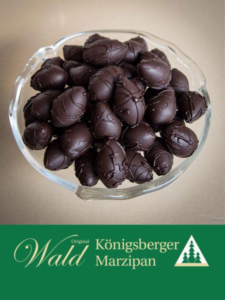 Kleine Ostereier in Edelbitterschokolade 150g