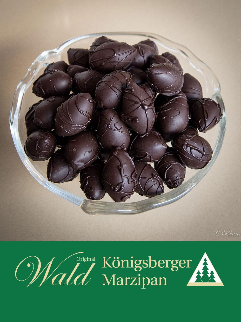 Original Wald Königsberger Ostereier in Edelbitterschokolade
