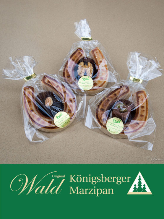 Königsberger Hufeisen mit einer Praline