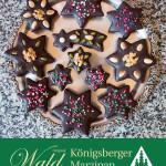Original Wald Königsberger Weihnachtsstern in Edelbitterschokolade