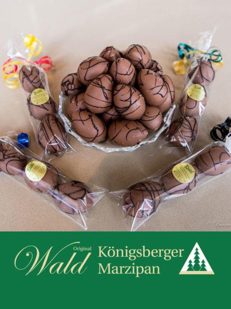 12 Ostereier in in Vollmilchschokolade