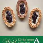 Original Wald Königsberger Ostereier geflämmt mit Schokohasen