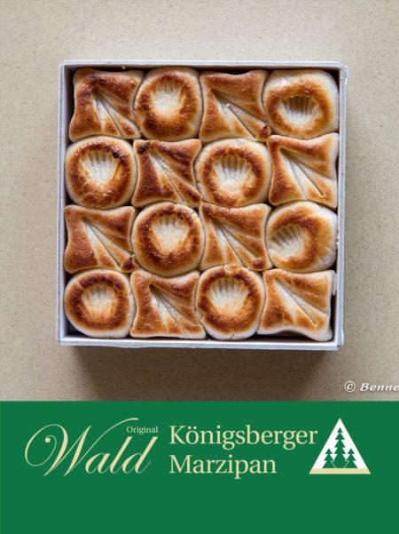 Geflämmtes Teekonfekt Geschenkbox Klein