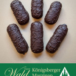 Original Wald Königsberger Marzipanbrote Edelbitter 150g