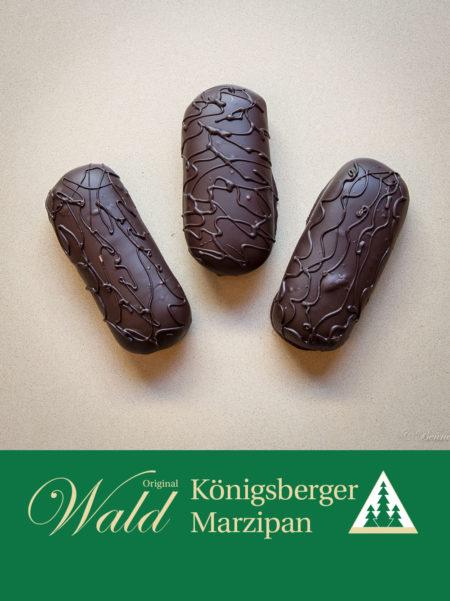 Marzipanbrot mit Edelbitterschokolade 300g