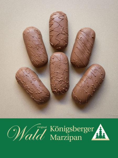 Marzipanbrot mit Vollmilchschokolade 150g