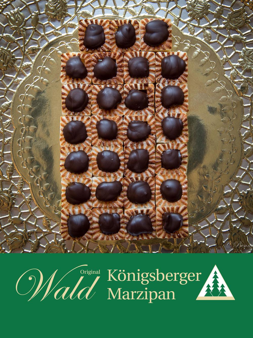 Original Wald Königsberger Teekonfekt gefüllt 300g
