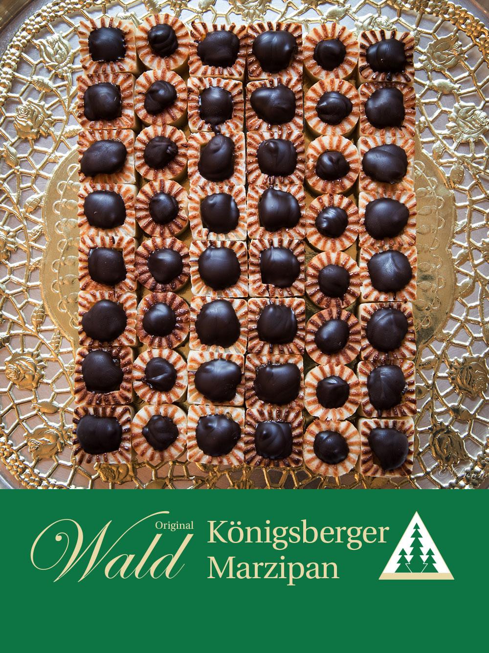 Original Wald Königsberger Teekonfekt gefüllt 500g