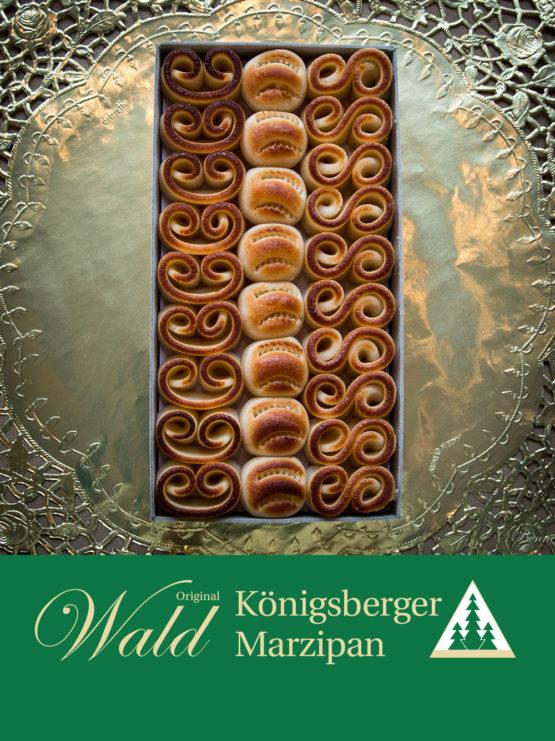 Original Wald Königsberger geflämmtes Teekonfekt Geschenkbox 235g