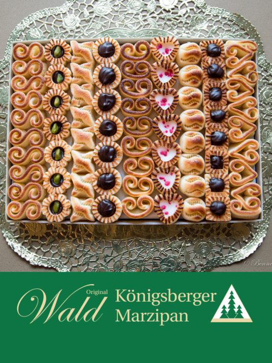 Original Wald Königsberger gemischtes Teekonfekt Geschenkbox 610g