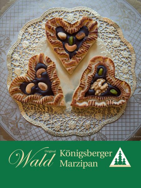 Original Wald Königsberger Marzipanherzen