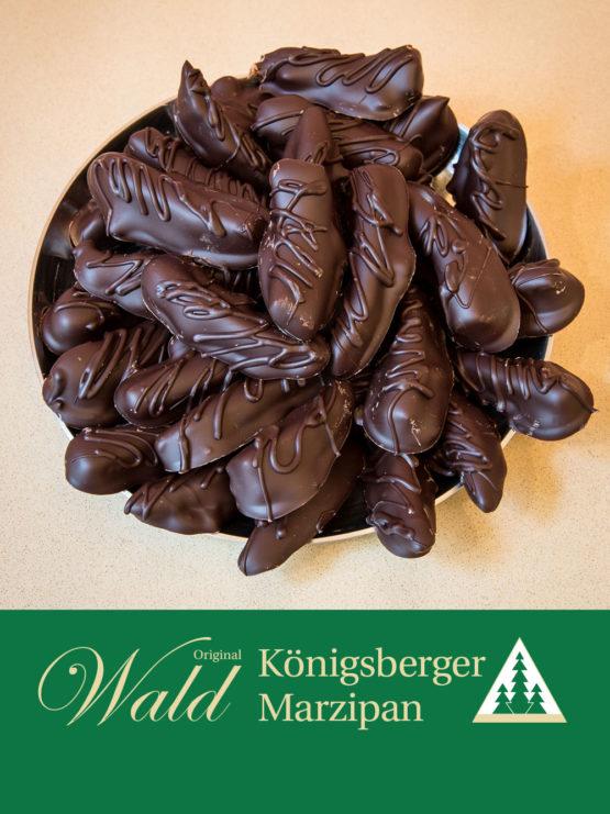 Original Wald Königsberger Orangenstäbchen in Edelbitterschokolade 100g
