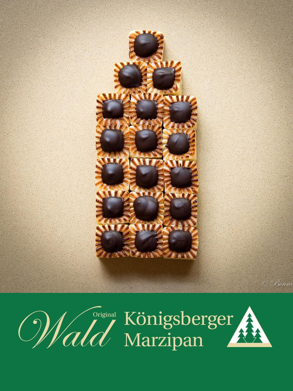 Original Wald Königsberger Teekonfekt mit Ingwer 200g
