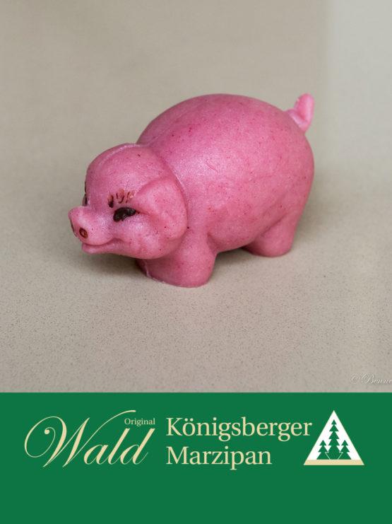 Original Wald Königsberger Glücksschweinchen rosa