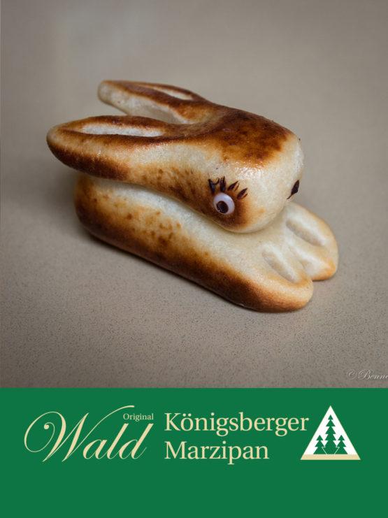 Original Wald Königsberger Osterhase geflämmt