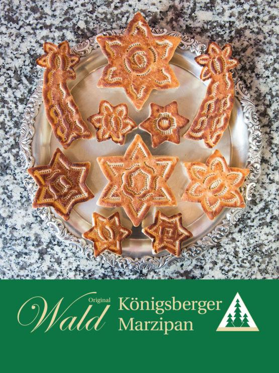 Königsberger Weihnachtsstern geflämmt