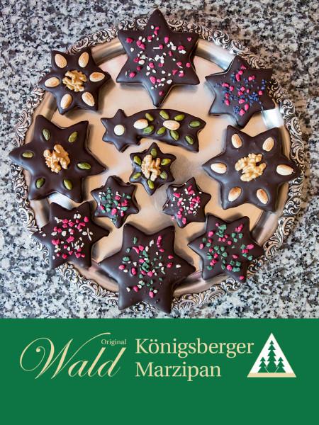 Original Wald Königsberger Morgenstern in Edelbitterschokolade