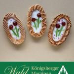 Original Wald Königsberger Ostereier gefüllt mit Früchten