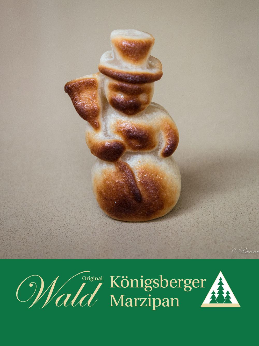 Original Wald Königsberger Schneemann geflämmt